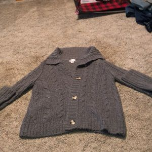Mossimo Supply Co. button up sweater